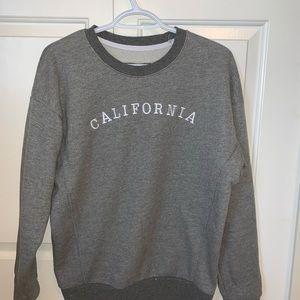 california crew neck sweater